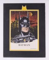 1991 DC Comics Batman Limited Edition 11x14 Zanart Movie Card