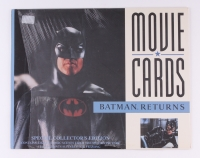 Complete Set of (8) Batman Returns 1992 Special Collector's Edition Movie Cards (Batman Hologram)