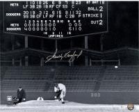 "Sandy Koufax Signed Dodgers ""Last Pitch"" 16x20 Photo (Online Authentics Hologram)"