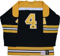 Bobby Orr Signed Bruins Jersey (Great North Road COA)