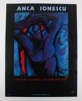 "Anca Ionescu Signed ""Art Expo California / New York 1988 - 1989"" 26"" x 34"" Poster Print (PA LOA)"