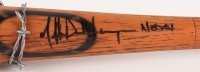 "Jeffrey Dean Morgan Signed ""The Walking Dead"" Barbed Wire Bat ""Lucile"" Prop Replica Inscribed ""Negan"" (JSA COA)"