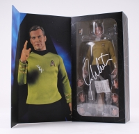 "William Shatner Signed ""Captain Kirk"" Star Trek Mater Series Articulated Figure with Original Box (JSA COA)"