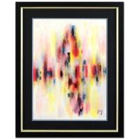"Neal Doty Signed ""Oh! Oh!"" 31x39 Custom Framed Original Acrylic Painting"
