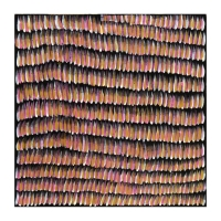 Margaret Turner Petyarre Signed 24x24 Original Acrylic Paining on Linen
