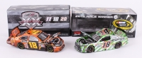 Lot of (2) Kyle Busch LE #18 M&M's Halloween & #18 New Hamshire Win 2011-15 Camry NASCAR 1:24 Action Premium Die Cast Car
