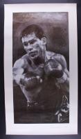 """Julio Cesar Chavez Signed LE 26"""" x 47"""" Print (JSA COA)"""