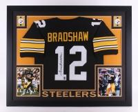 Terry Bradshaw Signed 35x43 Custom Framed Jersey (JSA COA & Bradshaw Hologram) at PristineAuction.com