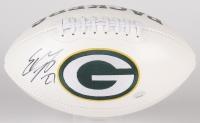 Eddie Lacy Signed Packers Logo Football (Radtke COA & Eddie Lacy Hologram)