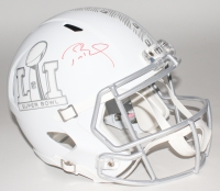 Tom Brady Signed Super Bowl LI Full-Size Speed Helmet (Tristar Hologram)