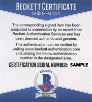Travis Kelce Signed Chiefs Speed Mini Helmet (Beckett COA) at PristineAuction.com