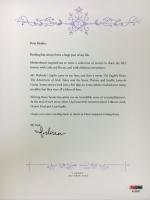 Madonna Signed Letter with Madonna's Children's LE Boxed Set (PSA LOA)