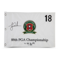 Tiger Woods Signed LE 2006 PGA Championship Pin Flag (UDA COA) at PristineAuction.com