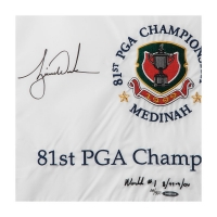 Tiger Woods Signed Limited Edition 1999 PGA Championship Pin Flag (UDA COA) at PristineAuction.com