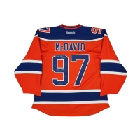 """Connor McDavid Signed Authentic Oilers Captain's Jersey Inscribed """"Youngest NHL Captain"""" (UDA COA)"""