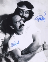 Cheech Marin & Tommy Chong Signed 11x14 Photo (JSA COA)