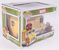 "Stan Lee Signed Deadpool's Chimichanga Truck With ""Deadpool"" Funko Pop Figure (Lee Hologram & Radtke COA)"