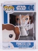 "Carrie Fisher Signed Star Wars ""Princess Leia"" POP! Vinyl Figure (Radtke COA)"