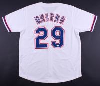 Adrian Beltre Signed Rangers Jersey (JSA COA)