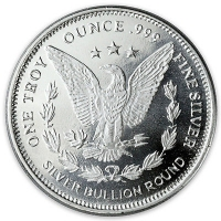 Lot of (10) Morgan Design 1 oz. .999 Fine Silver Rounds from Highland Mint (Brilliant Uncirculated) at PristineAuction.com