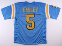 """Kenny Easley Signed UCLA Bruins Jersey Inscribed """"CF HOF '91"""" (JSA COA)"""