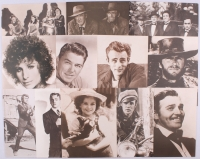 Lot of (99) Sepia 11x14 Photos with Marlyn Monroe, Clint Eastwood, John Wayne