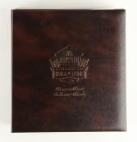 Pro Football Hall of Fame Bronze Bust Collector Card Set Signed by (147+) with Joe Montana, John Elway, Barry Sanders, John Madden, Steve Young, Terry Bradshaw, Franco Harris, Jack Lambert, Dan Marino (HOF COA)