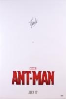 """Stan Lee Signed """"Ant-Man"""" 27x40 Movie Poster (Radtke Hologram)"""