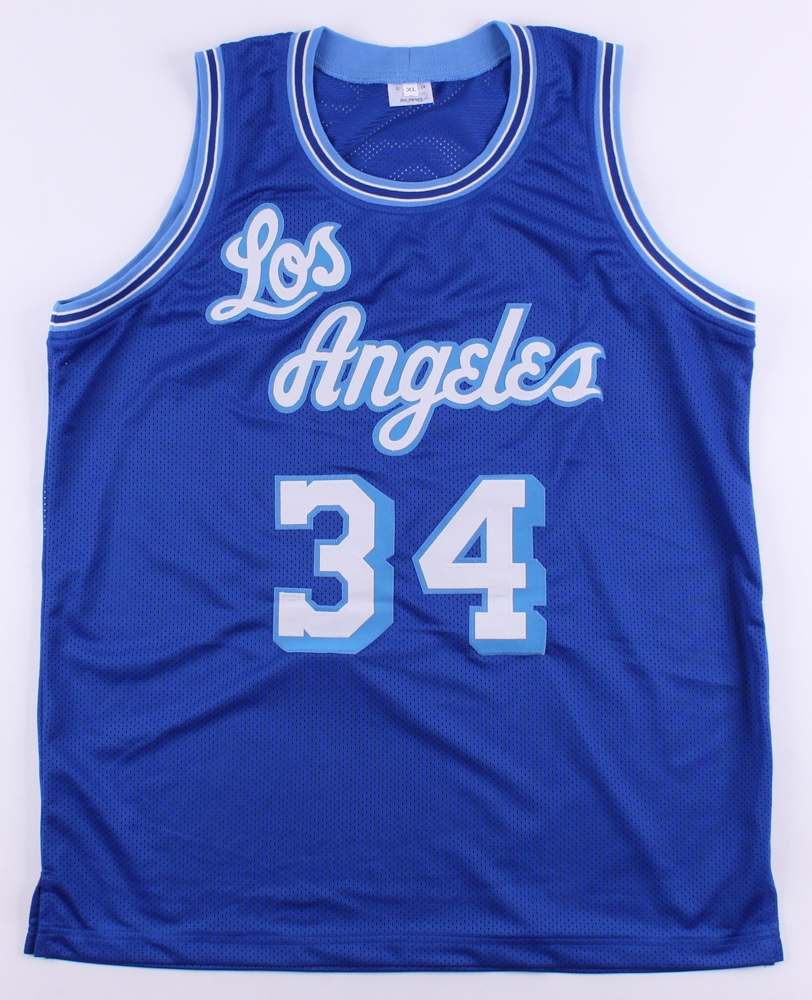 d741cfebf0d Shaquille O Neal Signed Throwback Lakers Jersey (JSA COA) at  PristineAuction.com
