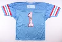 "Warren Moon Signed Oilers Jersey Inscribed ""HOF 06"" (Radtke Hologram & Moon Hologram)"