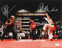 "Ralph Macchio & William Zabka Signed ""Karate Kid"" 11x14 Photo (JSA COA)"