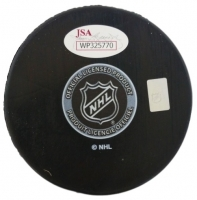 Ron Hextall & Bernie Parent Signed Flyers 50th Anniversary Logo Hockey Puck (JSA COA) at PristineAuction.com