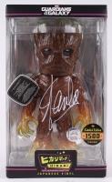 "Stan Lee Signed Groot ""Guardians of the Galaxy"" Marvel Hikari Vinyl Action Figure (Lee Hologram & Radtke COA)"