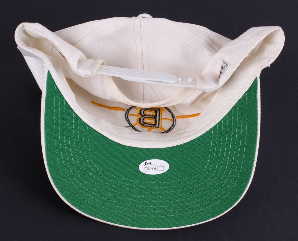 8c37e2b65c0626 Bobby Orr Signed Bruins Hat (JSA COA) at PristineAuction.com