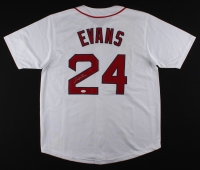 Dwight Evans Signed Red Sox Jersey (JSA COA)