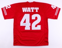T. J. Watt Signed Wisconsin Badgers Jersey (JSA COA) at PristineAuction.com