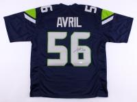 Cliff Avril Signed Seahawks Jersey (JSA COA)