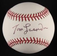 Tommy Lasorda Signed OML Baseball (JSA COA)