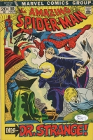 "Stan Lee & John Romita Signed Vintage 1972 ""Amazing Spider-Man"" Issue #109 Marvel Comic Book (JSA COA)"