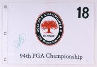 Rory McIlroy Signed 2012 PGA Championship Golf Pin Flag (JSA COA)