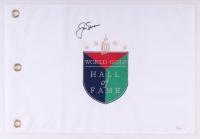 "Jack Nicklaus Signed ""World Golf Hall of Fame"" Pin Flag (JSA LOA)"