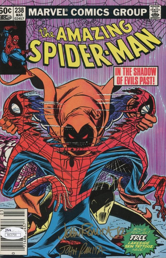 John Romita Jr Signed Vintage 1983 Amazing Spider Man