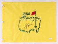 Jack Nicklaus Signed 2016 Masters Pin Flag (JSA LOA)