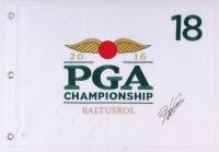 Hideki Matsuyama Signed 2016 PGA Championship Pin Flag (JSA COA)