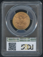1897 $10 Ten Dollars Liberty Head Eagle Gold Coin (PCGS MS 64) at PristineAuction.com