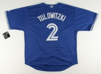 Troy Tulowitzki Signed Blue Jays Jersey (JSA COA)
