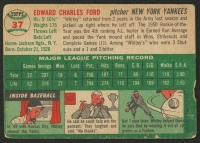 1954 Topps #37 Whitey Ford at PristineAuction.com