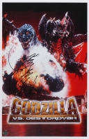 "Kenpachiro Satsuma Signed ""Godzilla vs. Destroyah"" 11x17 Poster (Legends COA)"