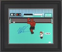 "Mike Tyson Signed ""Punch-Out!!"" 23"" x 27"" Custom Framed Photo (JSA COA)"