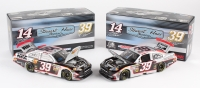 Lot of (2) Ryan Newman 1:24 LE Die Cast Cars with #39 Haas Automation 2011 Impala & #39 NRA / Bass Pro 2011 Impala